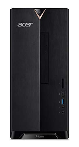 Acer Aspire TC-895 Tower-PC Intel Core i5-10400F, 8GB RAM, 256GB SSD + 1TB HDD, NVIDIA GeForce GT 1030, Win 10 Home