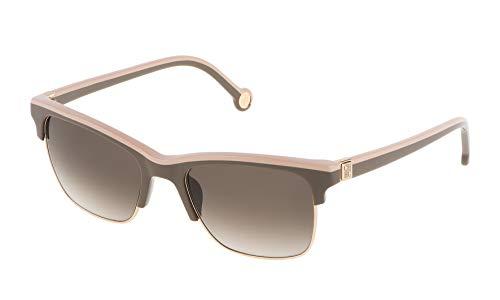 Carolina Herrera SHE6555306S9 Gafas de sol, Marrón, 53 para Mujer