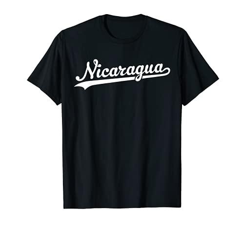 Nicaragua Baseball Jersey Script With Swoosh T-Shirt