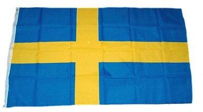 Fahne Flagge Schweden NEU 60 x 90 cm Flaggen Fahnen