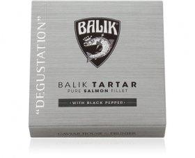 Balik Tartar mit schwarzem Pfeffer