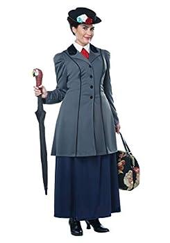 Women s Plus Size Nanny Costume 3X Gray