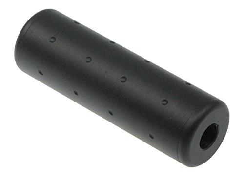 BEGADI Airsoft/Softair Double Screw Dummy Schalldämpfer Replika, kurz, aus Metall