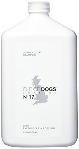 Isle of Dogs Coature No. 17 Copper Coat Evening Primrose Oil Dog Shampoo for Brown Dogs, 1 Liter