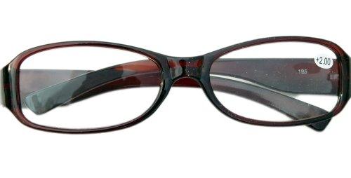 Nerd leesbril Slim Fit met smalle montuur verschillende diktes B2-7 +2.00