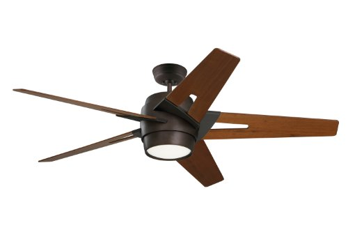 Emerson Ceiling Fans CF550WAORB Luxe Eco Modern Ceiling Fan With Light And Wall Control, 54-Inch Blades, Oil Rubbed Bronze Finish