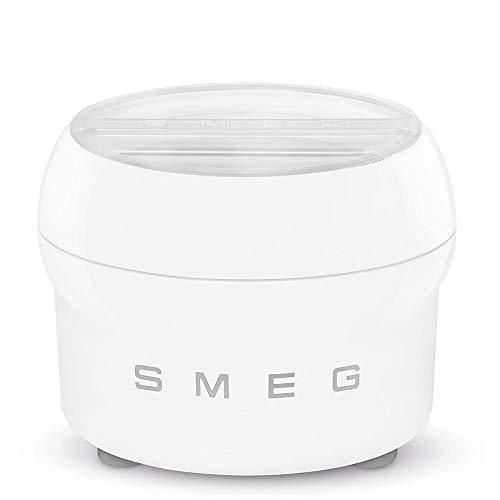 Smeg SMIC02 - Cestello per gelato, colore: Bianco