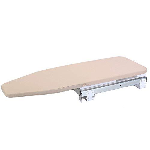 Tcatec - Tabla de Planchar Plegable con Funda para Tabla de Planchar, Tabla de Planchar Plegable para el hogar, Ahorro de Espacio