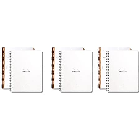 Pack of 5 Rhodia Meeting Books 6.3 X 8.3 White 80 Sheets