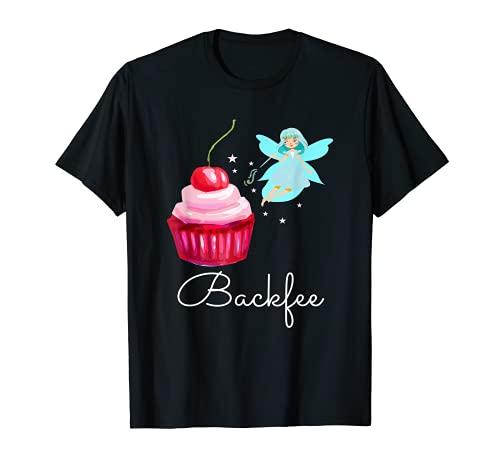 Backfee I Cupcake Muffin Torten Bäcker Lebkuchen Süß Brot T-Shirt