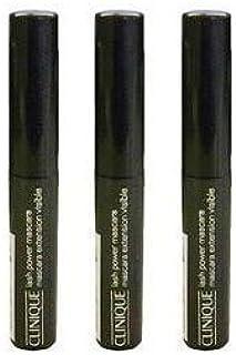 ☆クリニーク ラッシュパワー マスカラ ロングウェアリングフォーミュラ 01ブラックオニキス 2.5ml×3本セット (並行輸入品)☆