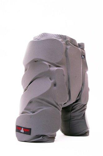 Triple 8 Bumsavers Padded Shorts (Gray, Large)