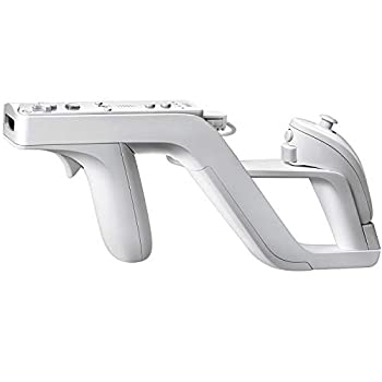 OSTENT Zapper Light Gun Attachment Compatible for Nintendo Wii Remote Nunchuck Shoot Sport Games