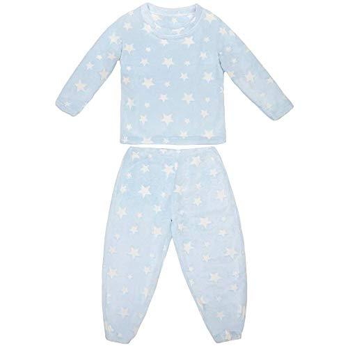 Conjunto de Pijama para niños Que Brillan en la Oscuridad,