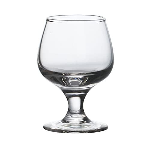 Copa de Ginebra, Copa de Vino Tinto, 4 Copas de Ginebra, Cristal de Champán, 485 ml de Exquisito Hogar y Regalos