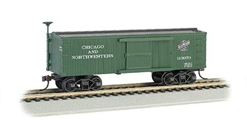 Bachmann Industries C&NW Old-Time Box Car (HO Scale Train)