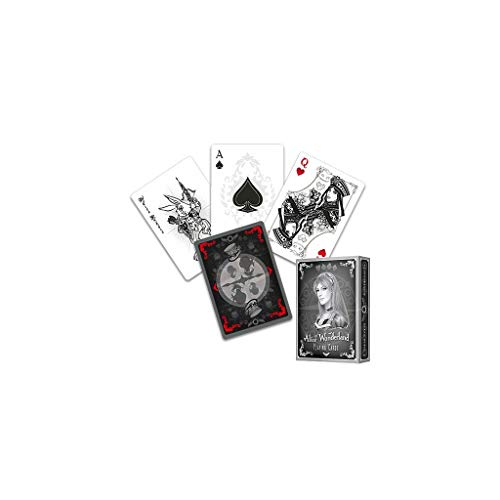 Alice of Wonderland Playing Cards - Silver Edition by Sketch2Draw