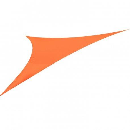 Easywind - Voile d'ombrage 360x360x360cm - Levant - Forme Triangulaire, Coloris Terracotta, Tissu Extensible