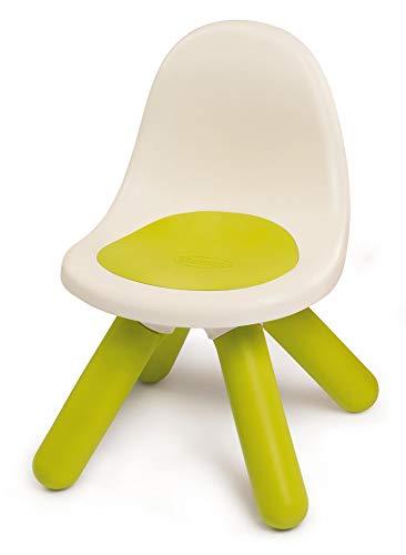 Smoby - Kid Chaise - Mobilier pour Enfant - Dès 18 Mois - Intérieur et Extérieur - Vert - 880105