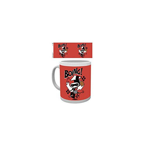 GB Eye, Justice League, Harley Quinn Boing Chibi, Tasse,