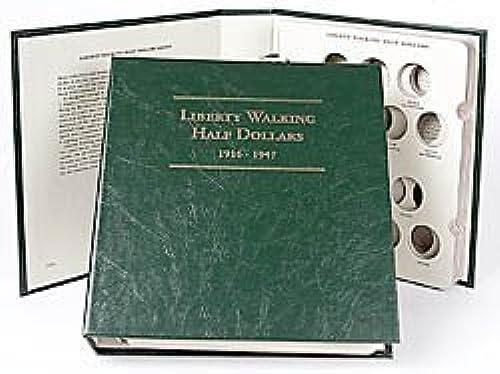 Las ventas en línea ahorran un 70%. Littleton Littleton Littleton Walking Liberty Half Dollars Album LCA5 by Littleton  directo de fábrica