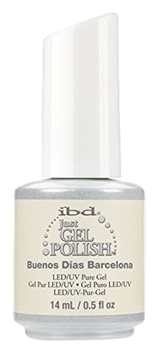 知る砂漠猟犬ibd Just Gel Nail Polish - Summer 2017 Destination Colour Collection - Buenos Dias Barcelona - 14ml / 0.5oz