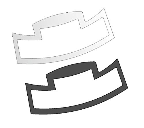 3 x Schutzfolie für Jura S-Line - S8 - S80 - E6 - E8 - E60 - E80 - E Line Impressa Tassenablage, Abtropfblech, Tassenplattform