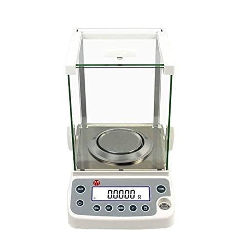FYHH-JZHY Nuevas Básculas De Pesaje, Báscula Electrónica Analítica Digital De Precisión De Última Generación Que Pesa hasta con Básculas De Miligramos (Capacidad: 3200G / 0.01G)