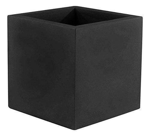 Vondom 41340 Cubo Simple, Negro, 40x40x40 cm