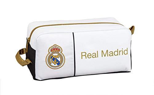Real Madrid CF Equipaje para niños, Unisex Adulto, Multicolor, Talla Única