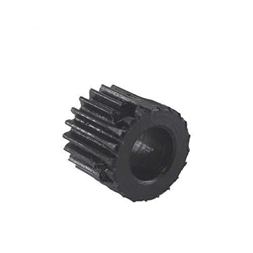 WNJ-TOOL, 1pc 1Module 10T Zahnrad Metall 45Steel Spur Gear Ritzel 4/5 mm Innenbohrung Mold 1 10Teeth Rc Ritzel Pulley (Farbe : 4mm, Größe : 10Teeth)