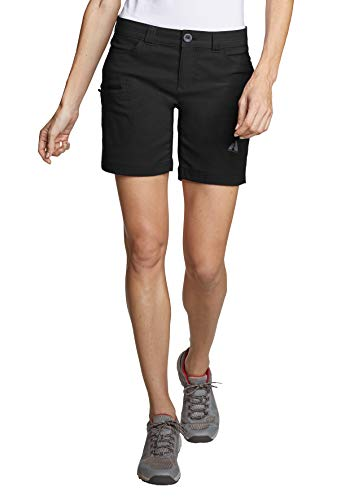 Eddie Bauer Damen Guide Pro Shorts, Gr. 16 (46), Schwarz