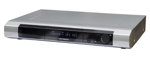 Kathrein UFS923Si/1000GB Twin-HDTV Digitalreceiver mit Festplatte 1000GB (DVB-S, CI+, USB 2.0) silber