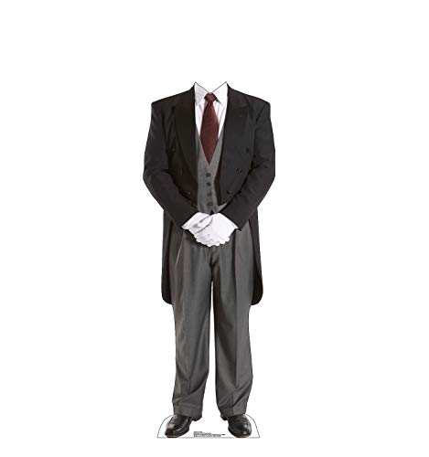 Advanced Graphics Butler Stand-in Life Size Cardboard Cutout Standup