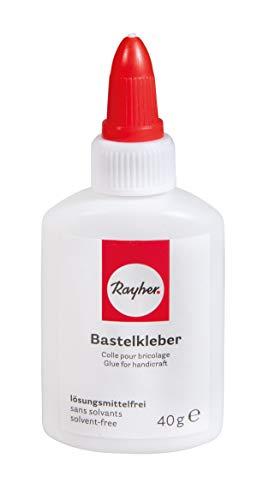 Rayher 3340600 Bastelkleber, Flasche 40g