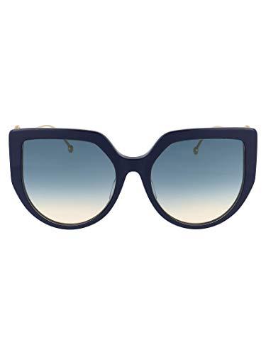 FENDI Luxury Fashion Donna FF0428FSPJPI4 Blu Occhiali Da Sole | Primavera Estate 20