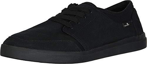 Sanuk Vagabond Lace Sneaker Black/Black 11 D (M)