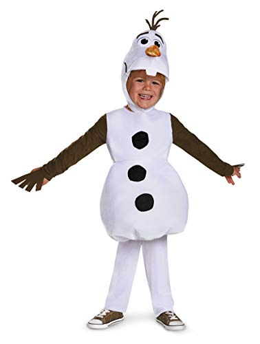 Olaf Toddler Classic Costume, Small (2T)