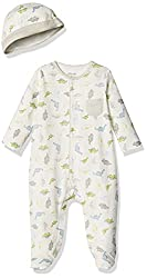3. Little Me baby-boys Dinosaur Sleeper Pajamas