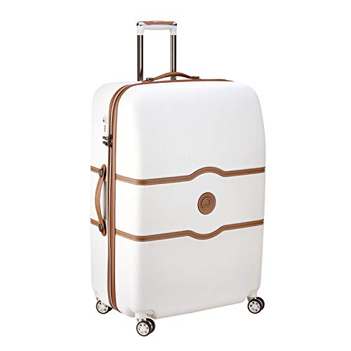 DELSEY Paris Chatelet Air Maleta, 82 cm, 135 Liters, Blanco (Angora)