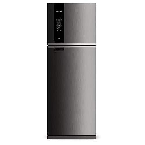 Geladeira Brastemp Frost Free Duplex 400 litros cor Inox com Freeze Control - 110V