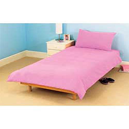 Lit bébé Housse de couette de lit avec taie d'oreiller Coton Naturel de qualité supérieure 120 x 150 cm – Café