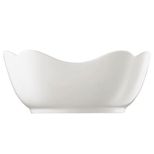 Hutschenreuther 02013-800001-13170 Saladier Rectangulaire 20 cm, Porcelaine, Blanc