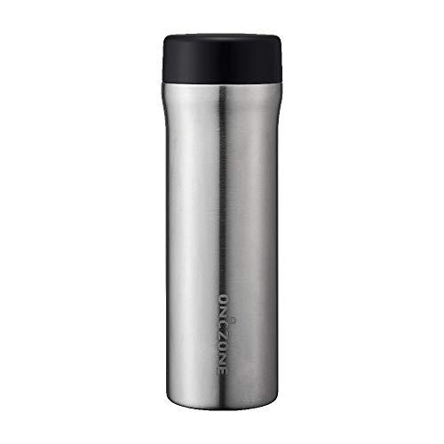 ドウシシャ 水筒 氷点下ボトル 555ml ON℃ZONE (オンドゾーン) シルバー