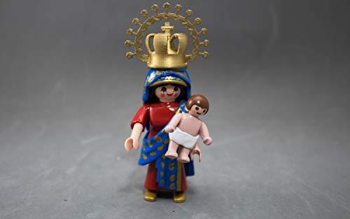 Click playmobil customizado Virgen del Pilar - Zaragoza