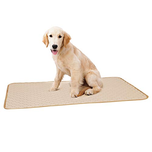Biowlucn Reusable Pee Pad/Quilted, Fast Absorbing Dog Whelping Pad/Waterproof Puppy Training Pad/Housebreaking Absorption Pads, Machine Washable