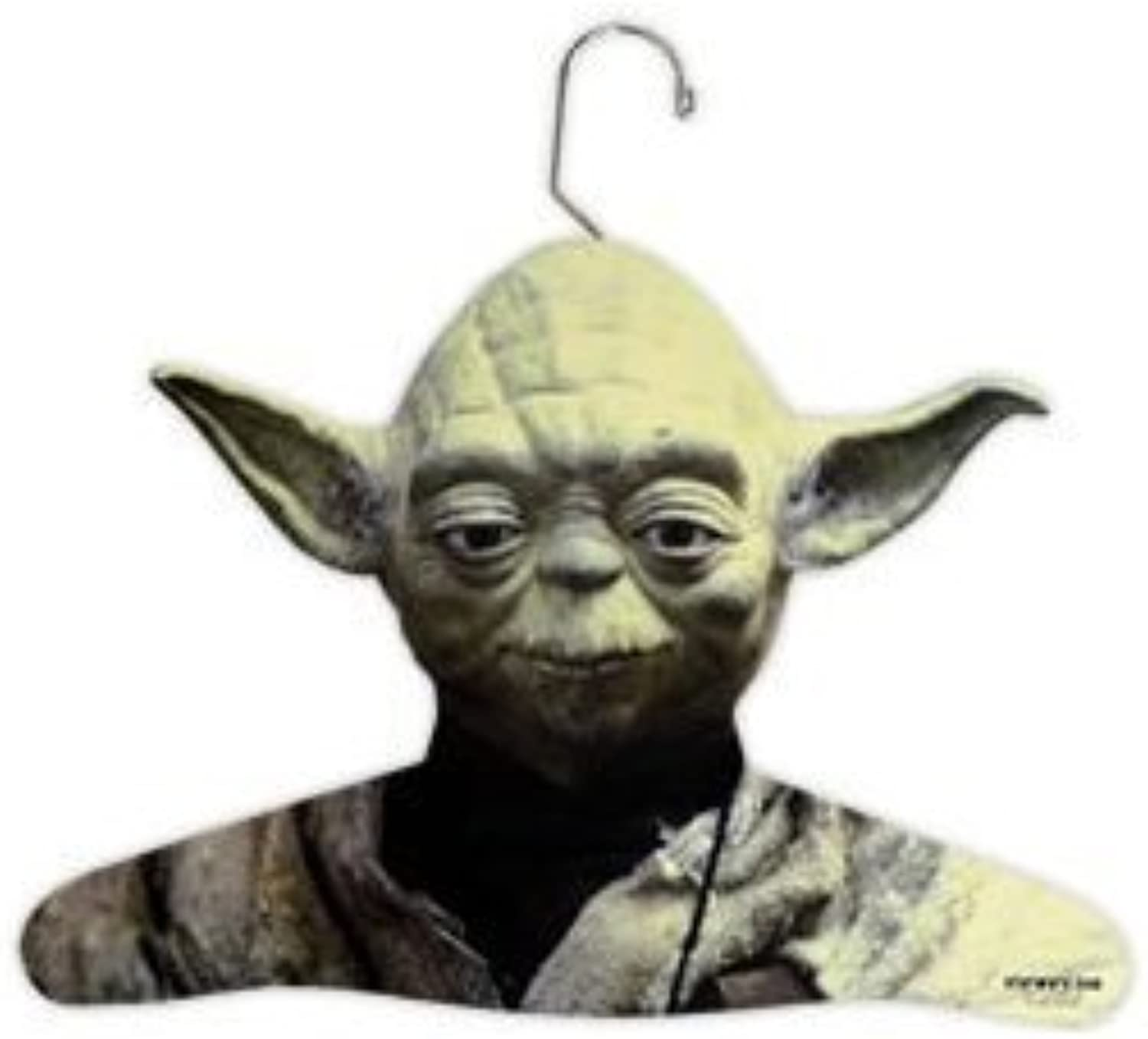 Star Wars Yoda Wooden Hanger CosMe (Japan Import)