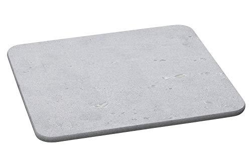 Hukka Design Kiviarina | Platte aus massivem Speckstein zum Backen von Brötchen, Broten und Pizza