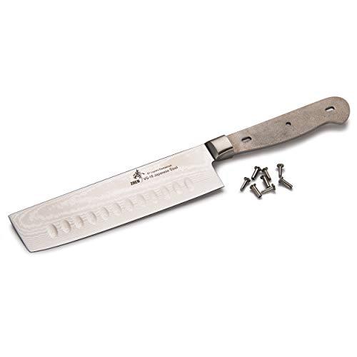 Woodworking Project Kit for Zhen Nakiri Knife Blade Blank 6-5/8