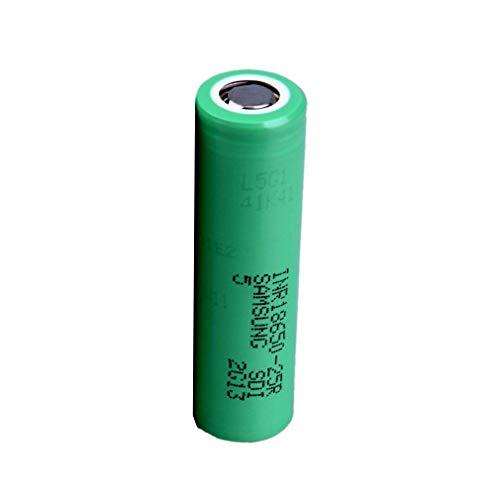 Baterías Recargables Flat Top 18650, para Samsung Original 25R 2500mAh Batería De Fuente De Alimentación Inr18650-25r, para Cigarrillo Electrónico/Linterna/Cámara/Timbre/Equipo Electrónico (1pc)